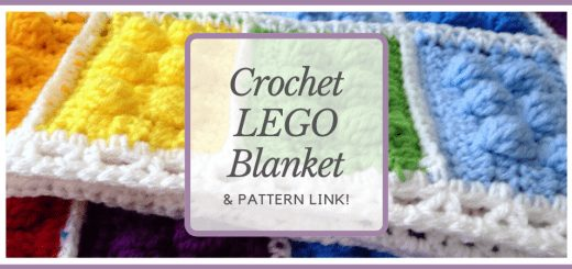 Crochet Lego Blanket (And Pattern Link!) - www.craftaboo.com