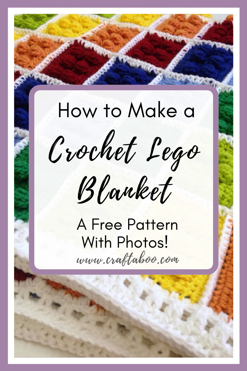 How to Create the LEGO Blanket - www.craftaboo.com