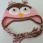 Crochet Owl Hat - www.craftaboo.com