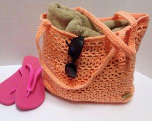 Crochet Mesh Market Bag - www.craftaboo.com