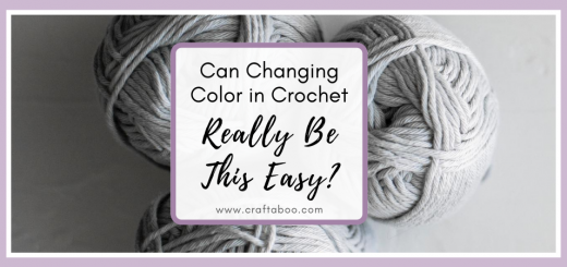 Can Changing Color in Crochet Really Be This Easy? - www.craftaboo.com