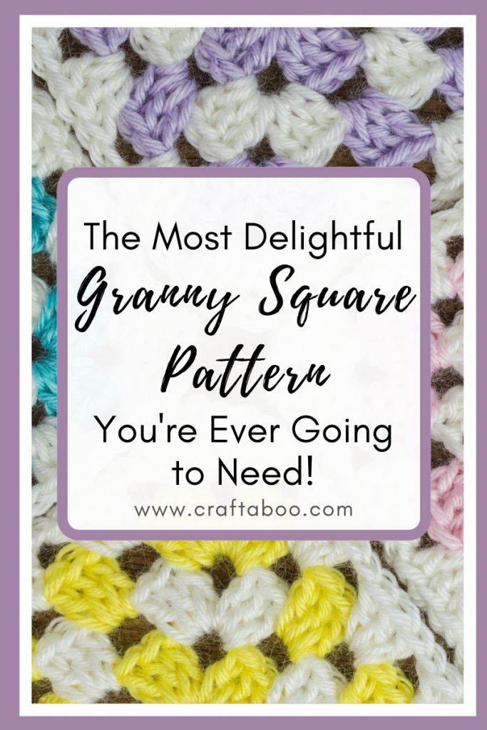 The Most Delightful Granny Square Pattern You're Ever Going to Need - www.craftaboo.com
