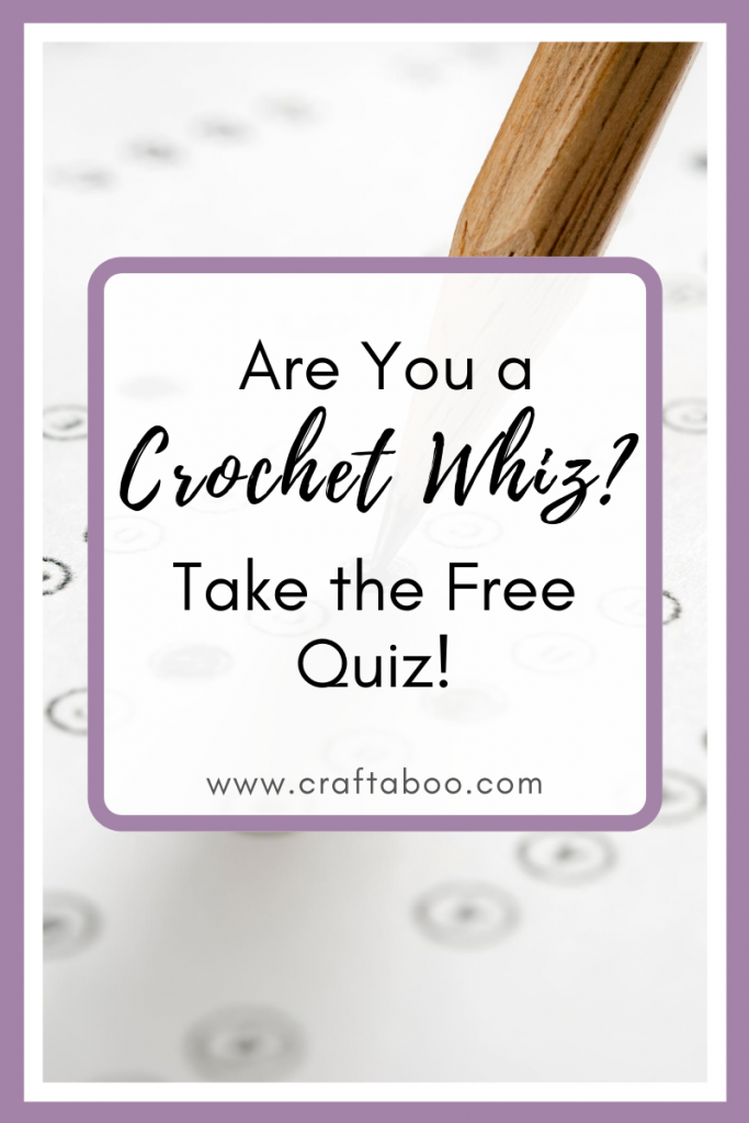 Are You a Crochet Whiz? Take the Free Quiz - www.craftaboo.com